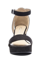CL by Chinese Laundry Super Suede Chunky Heels - Back cropped