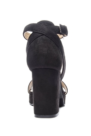 CL by Chinese Laundry Super Suede Chunky Heels - Front full body