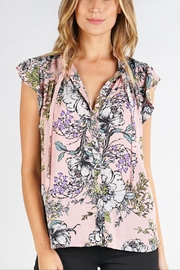 Love Stitch Claire Blouse - Front full body
