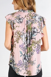 Love Stitch Claire Blouse - Back cropped