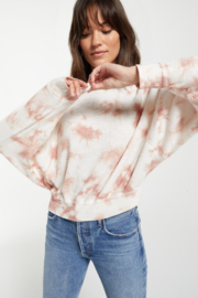 z supply Claire Cloud Tie-Dye Top - Side cropped