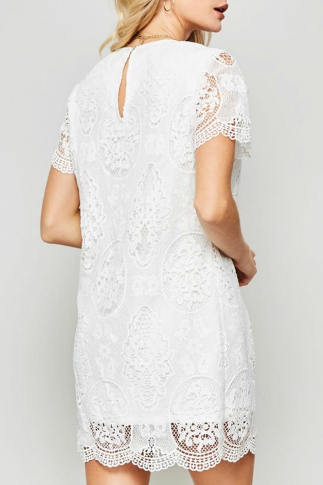 Promesa USA Claire Lace Dress - Side Cropped Image
