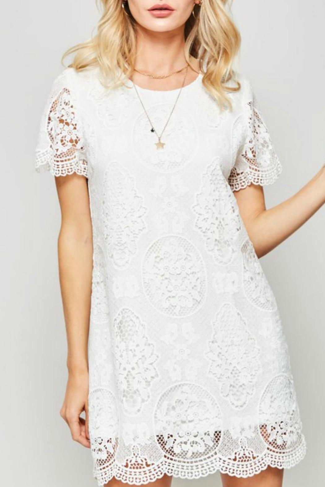 Promesa USA Claire Lace Dress - Front Full Image