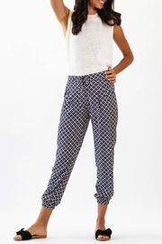 Pink Martini Claire Patterned Jogger - Product Mini Image