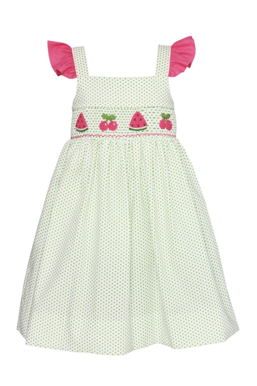 Claire & Charlie Smocked Dress - Main Image