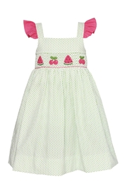 Claire & Charlie Smocked Dress - Product Mini Image