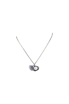 Presco CLAM SHELL PEARL NECKLACE - Alternate List Image