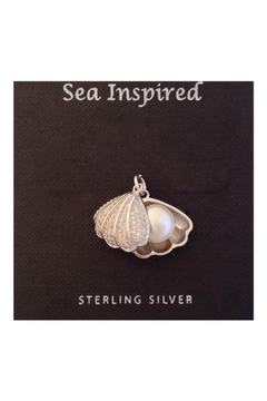Presco CLAM SHELL PEARL NECKLACE - Product List Image