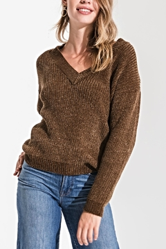 rag poets Clara Chenille Sweater - Product List Image