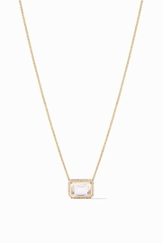 Julie Vos CLARA LUXE NECKLACE-CLEAR CRYSTAL - Product Mini Image