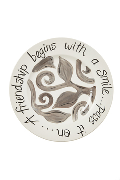 Shoptiques Product: Friendship Dinner Plate