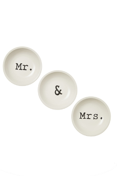 Shoptiques Product: Mr. & Mrs. Dishes