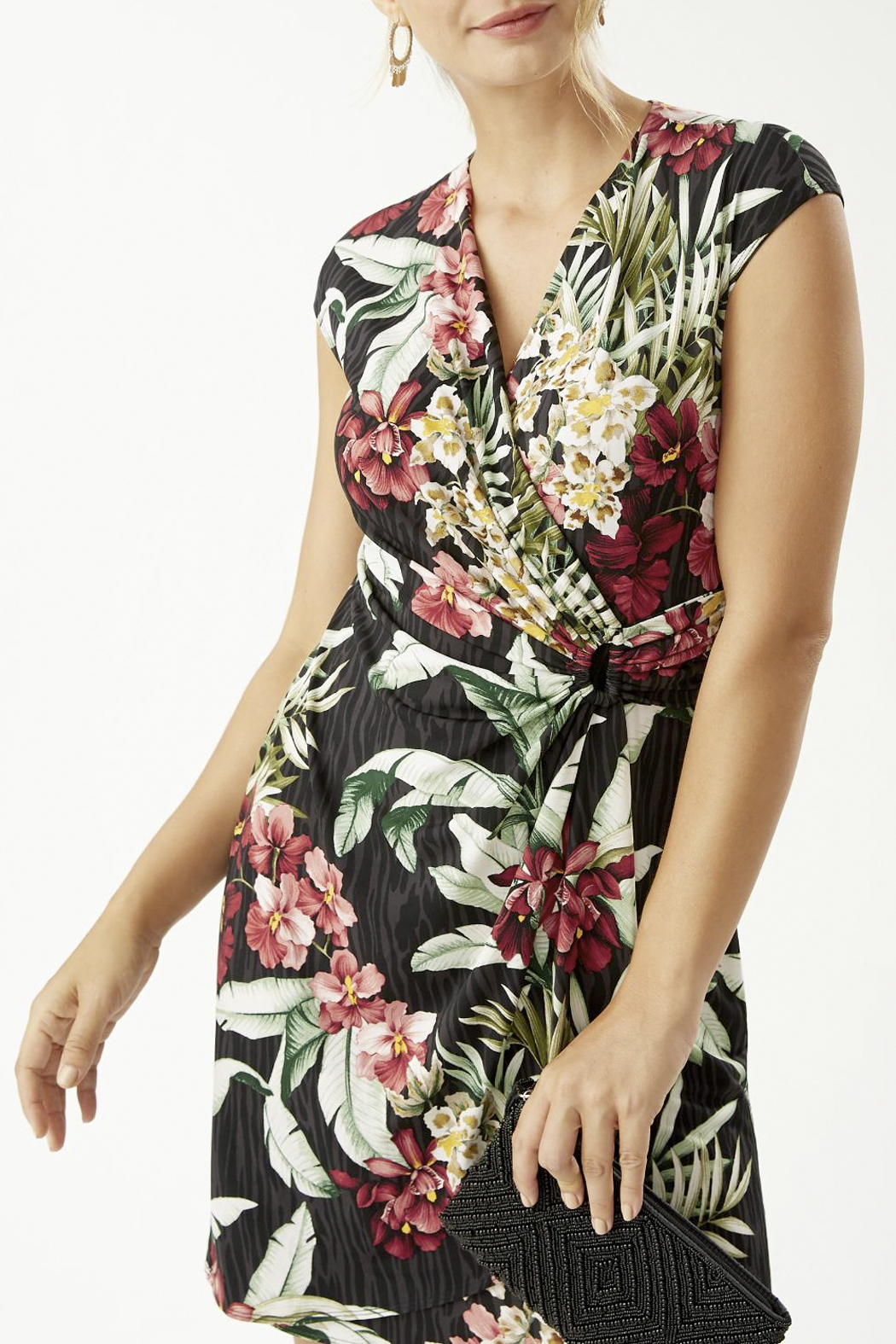 Tommy Bahama  Clara Ocean Orchid Dress - Back Cropped Image