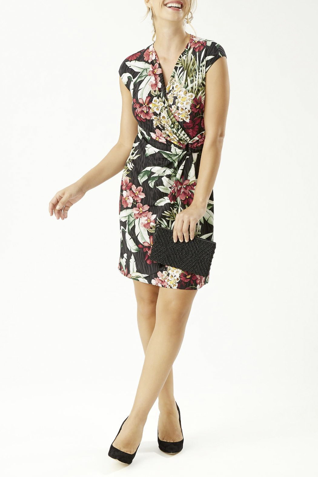 Tommy Bahama  Clara Ocean Orchid Dress - Side Cropped Image