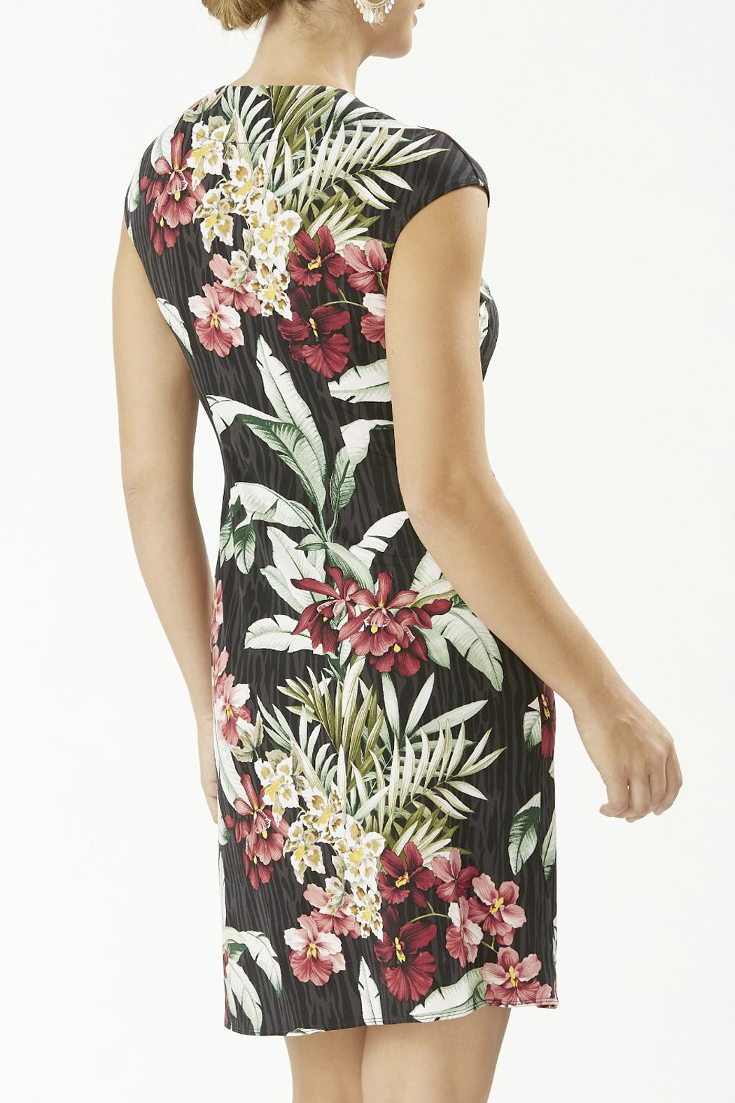 Tommy Bahama  Clara Ocean Orchid Dress - Front Full Image