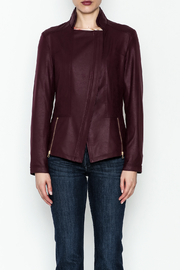 Clara Sunwoo Liquid Leather Jacket - Front full body