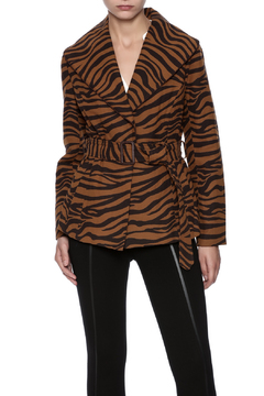 Shoptiques Product: Zebra Wrap Coat
