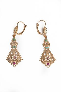 Shoptiques Product: Modern Vintage Earrings