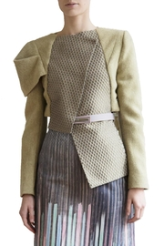 Clara Kaesdorf Asymmetric Wool Jacket - Product Mini Image