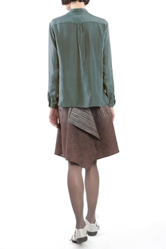 Clara Kaesdorf Blouse Grey Shimmer - Alternate List Image