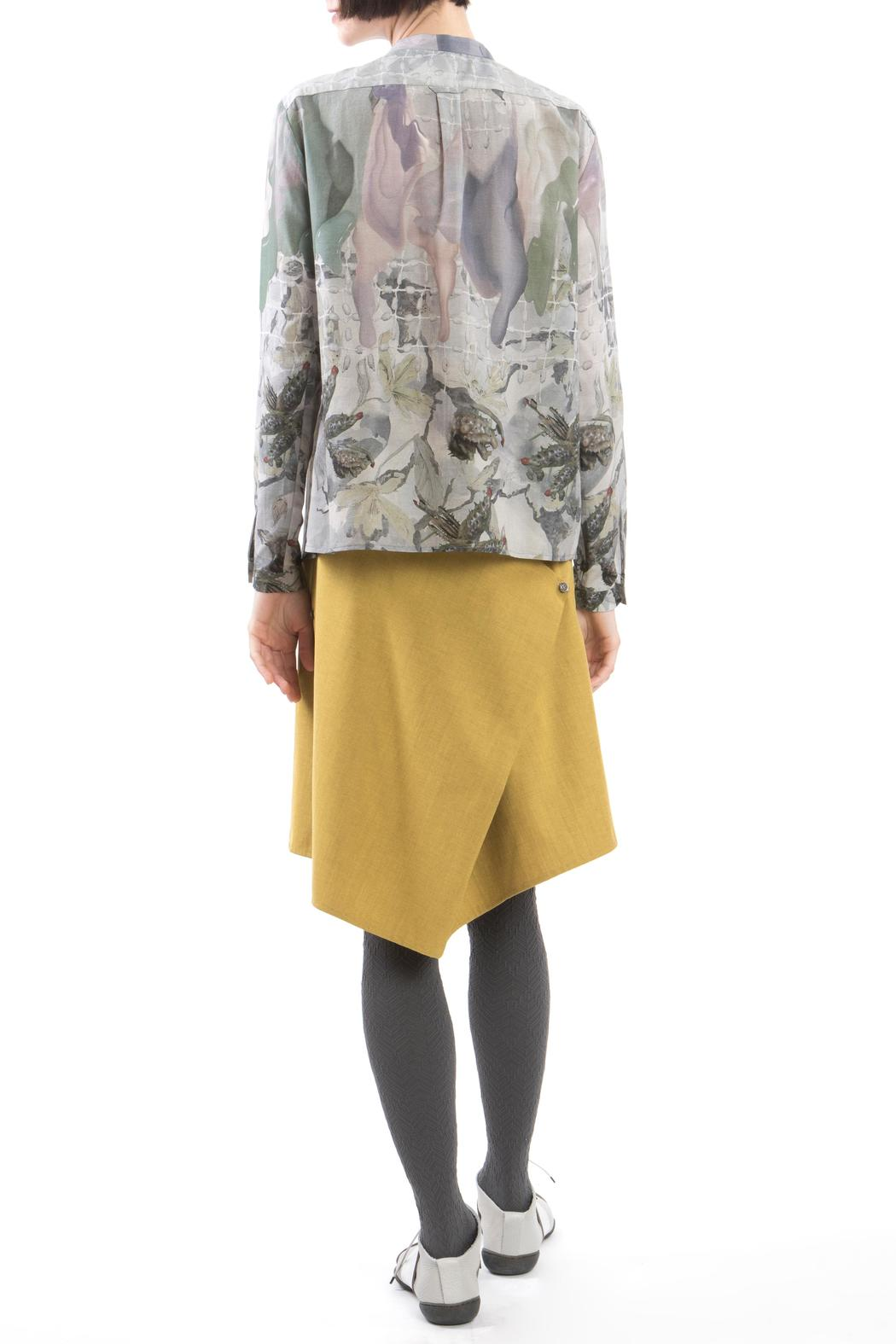 Clara Kaesdorf Blouse Print Wax - Side Cropped Image