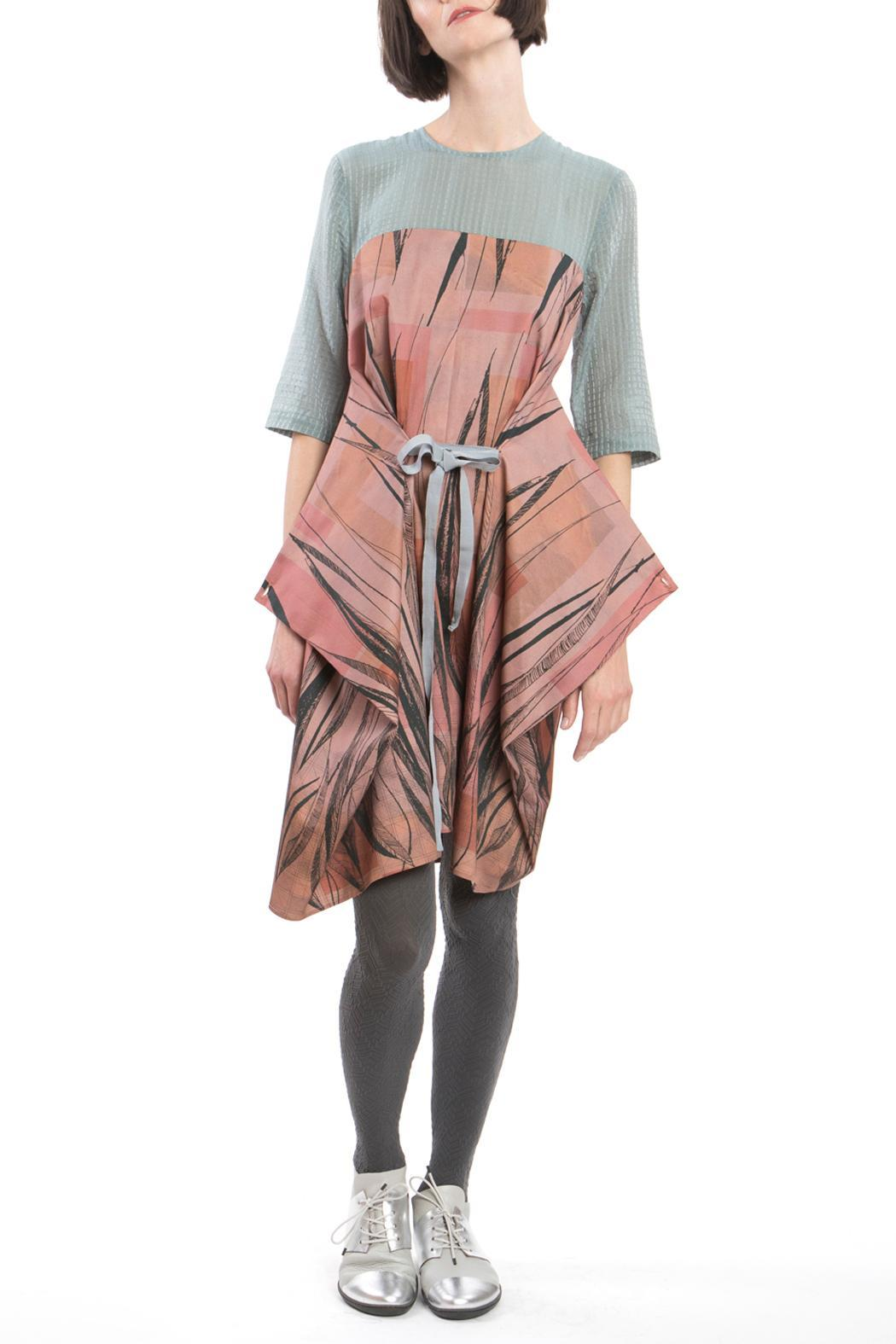 Clara Kaesdorf Changeable Dress Feather - Front Cropped Image
