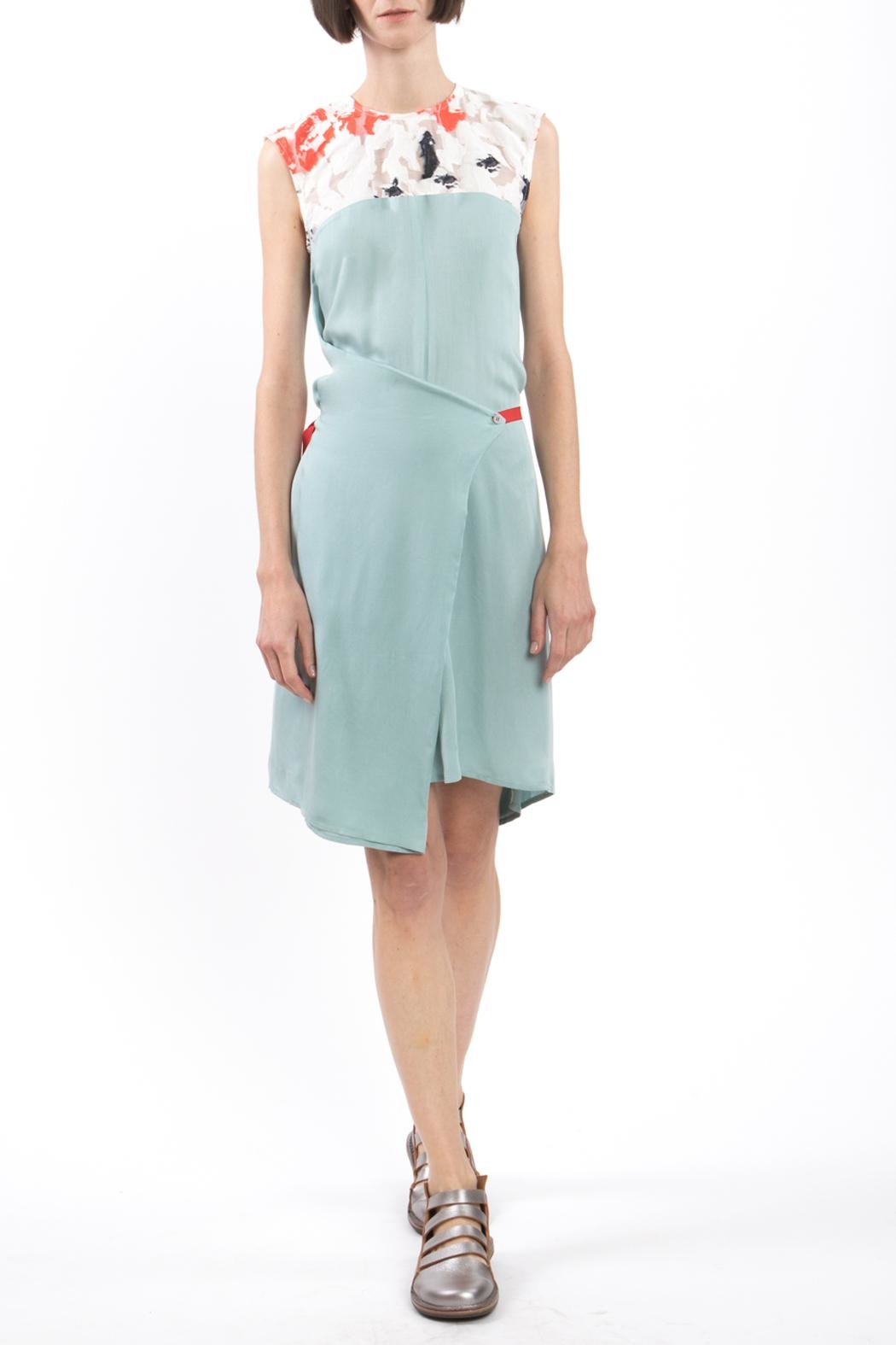 Clara Kaesdorf Changeable Dress Green - Front Full Image