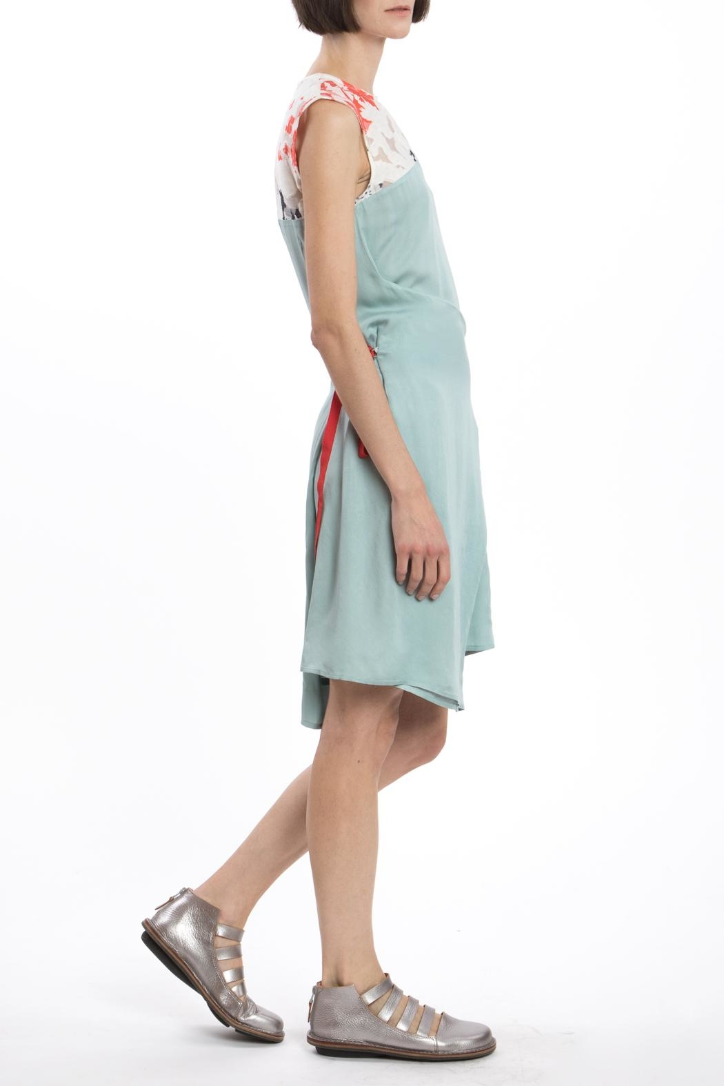 Clara Kaesdorf Changeable Dress Green - Side Cropped Image