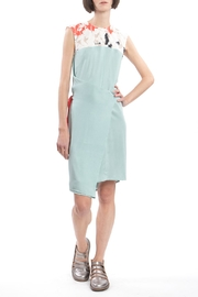 Clara Kaesdorf Changeable Dress Green - Front cropped