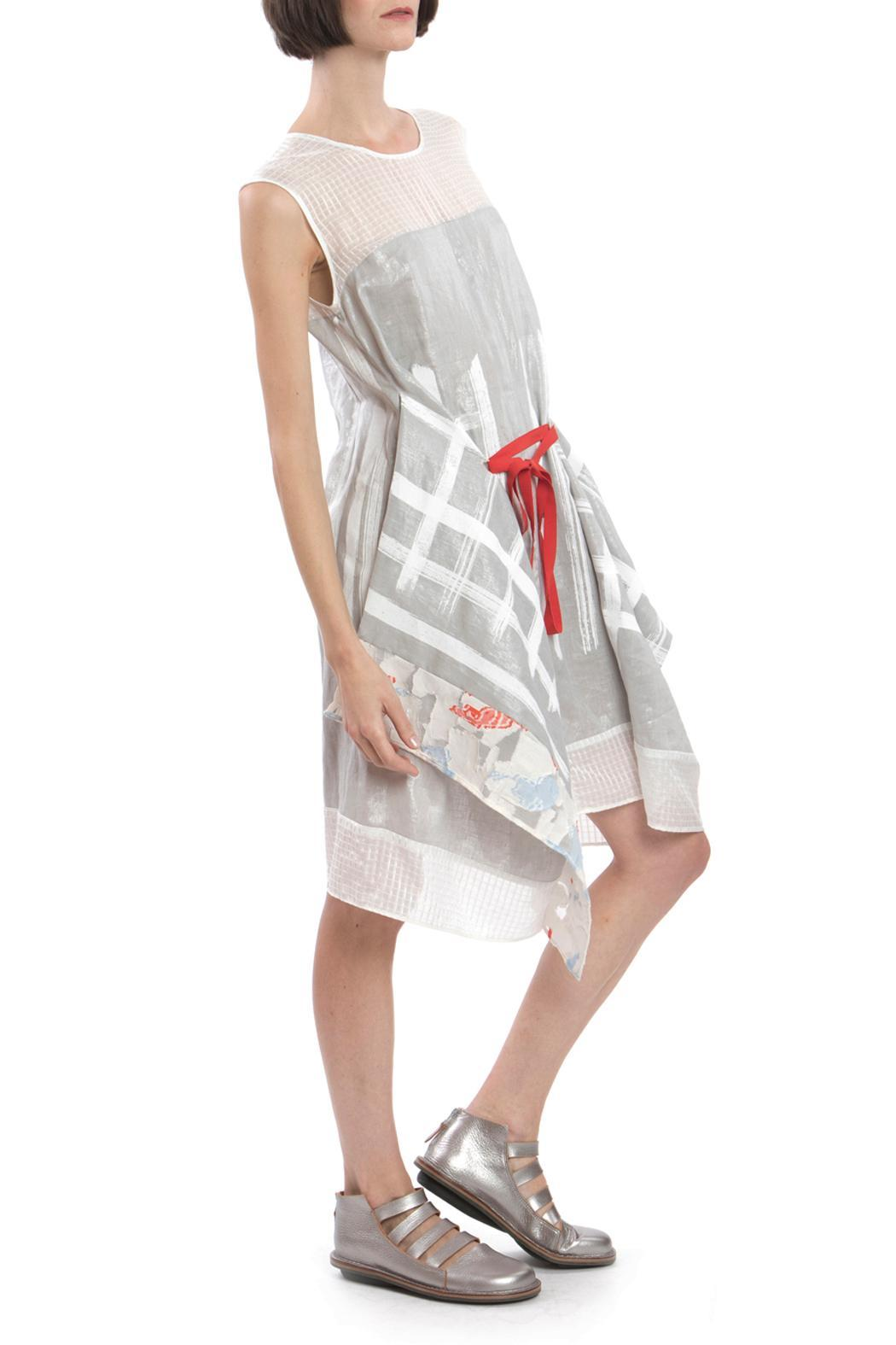 Clara Kaesdorf Changeable Dress Silver - Back Cropped Image