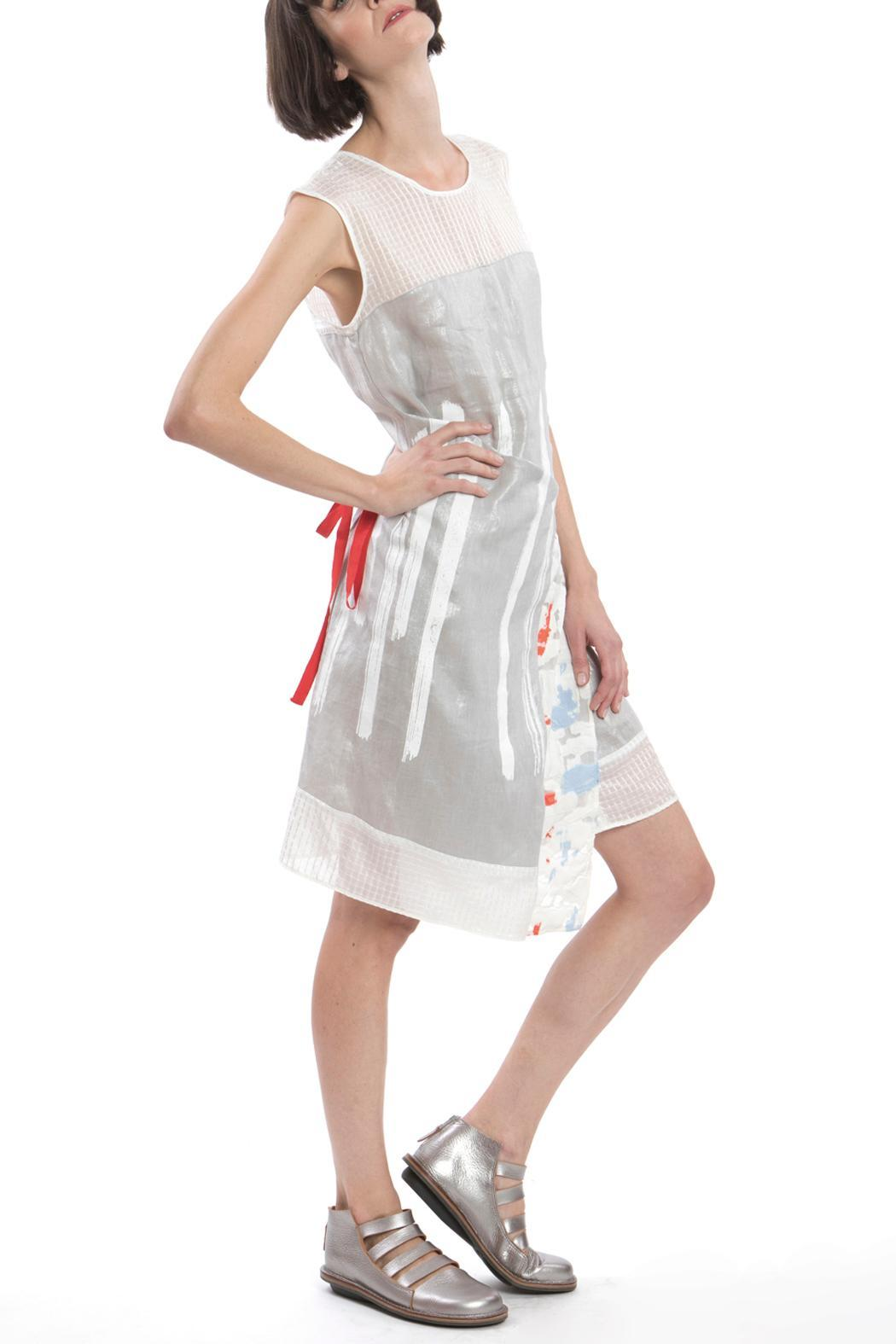 Clara Kaesdorf Changeable Dress Silver - Front Cropped Image