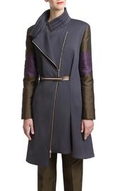 Clara Kaesdorf Coat Grey Green - Product Mini Image