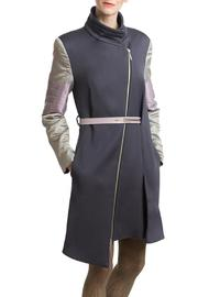 Clara Kaesdorf Coat Grey Silver - Product Mini Image