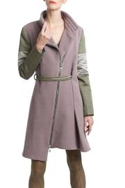 Clara Kaesdorf Coat Pink Green - Other