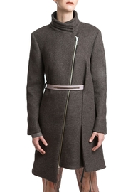 Clara Kaesdorf Coat Wool Grey - Product Mini Image