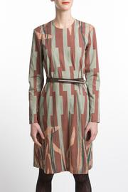 Clara Kaesdorf Dress Leaf Print - Product Mini Image