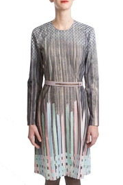 Clara Kaesdorf Dress Pastel-Colour Gradient - Product Mini Image