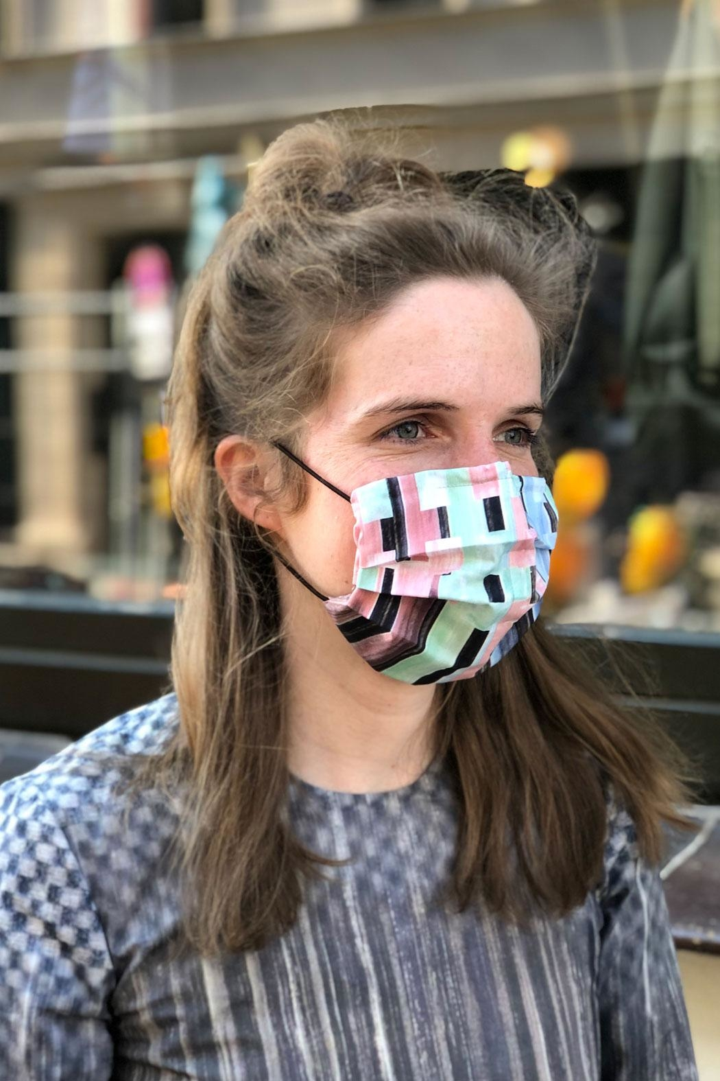 Clara Kaesdorf Four Printed Face-Masks - Front Cropped Image