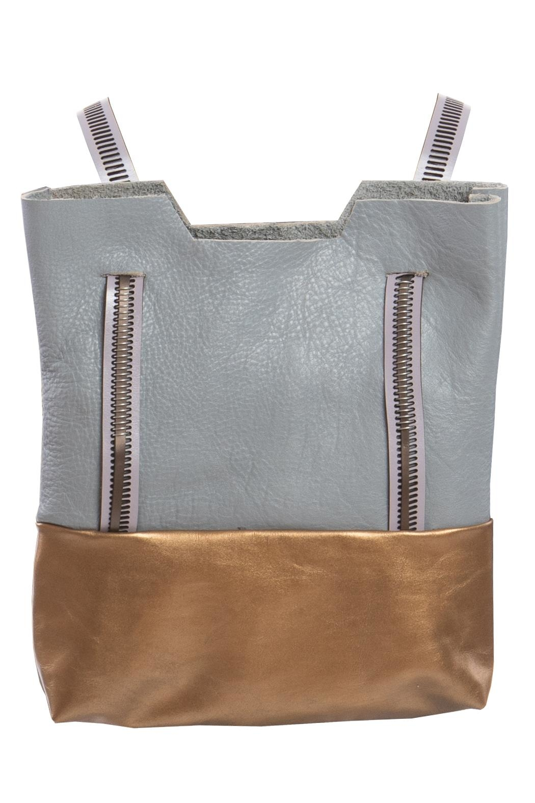 Clara Kaesdorf Leather Backpack Shopper - Front Cropped Image