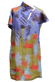 Clara Kaesdorf Linen Dress Asymmetric - Product Mini Image