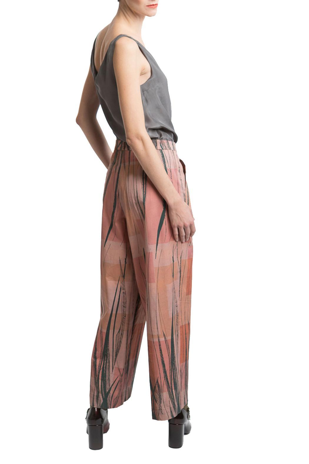 Clara Kaesdorf Marlene Pants Feather - Back Cropped Image