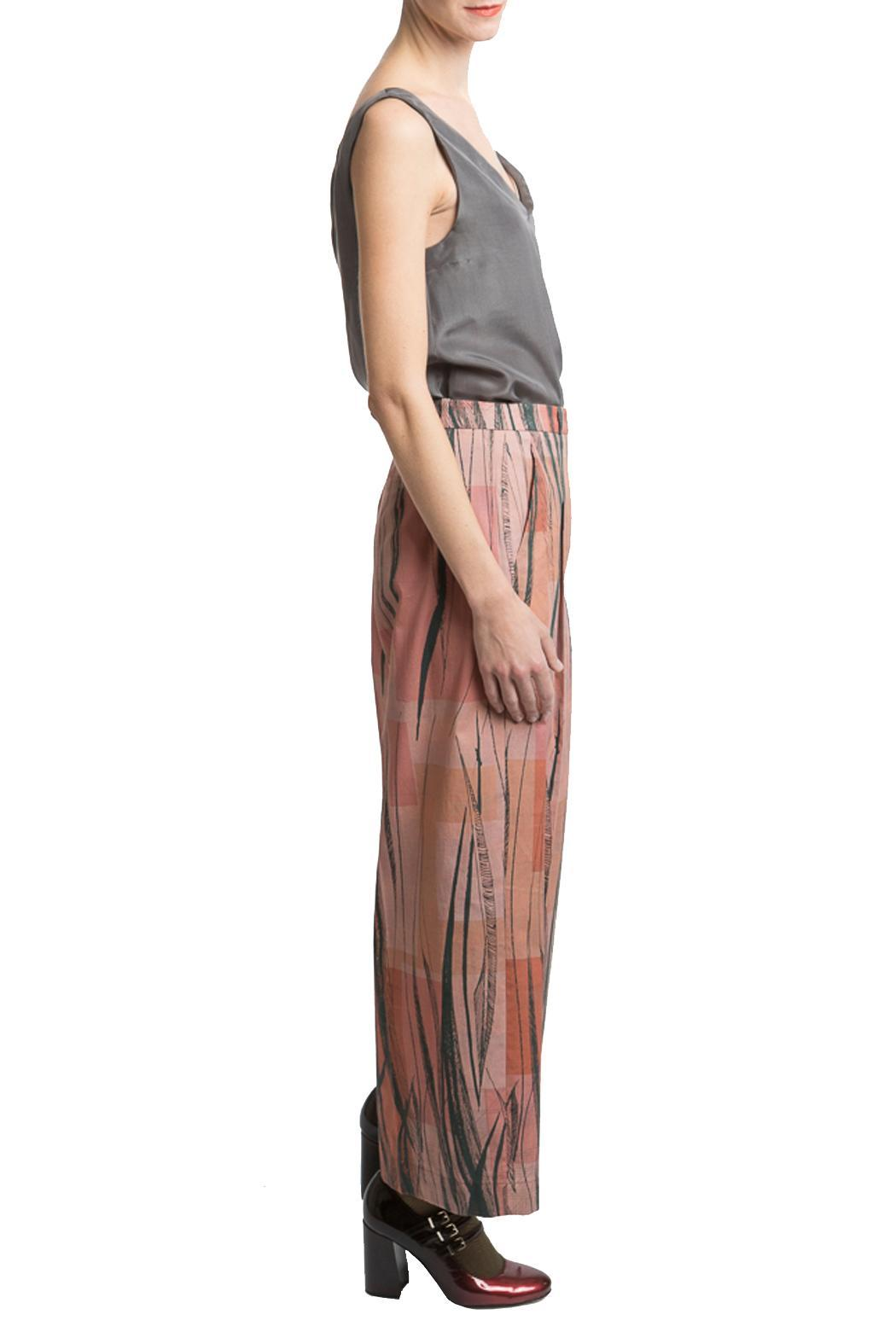 Clara Kaesdorf Marlene Pants Feather - Front Full Image