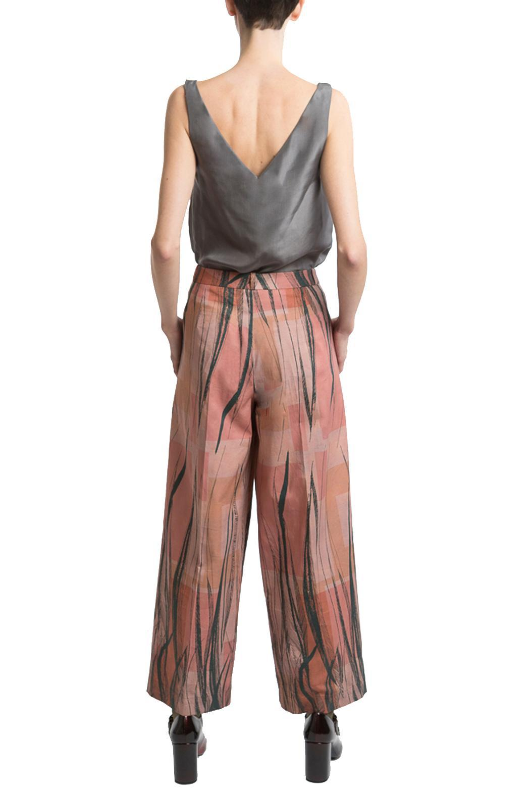 Clara Kaesdorf Marlene Pants Feather - Side Cropped Image