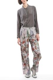 Clara Kaesdorf Red Marlene Pants Flower - Front full body