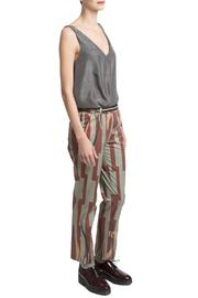 Clara Kaesdorf Pants Leaf Print - Product Mini Image