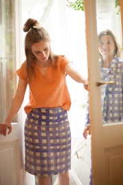 Clara Kaesdorf Pencil Skirt Check - Product Mini Image