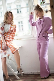 Clara Kaesdorf Pink Wide-Leg Pants - Product Mini Image