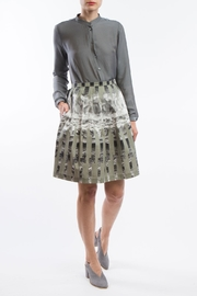 Clara Kaesdorf Pleated Skirt Print - Product Mini Image