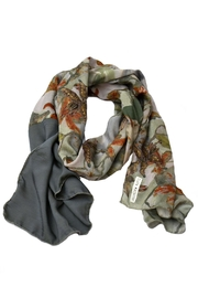 Clara Kaesdorf Scarf  Flower Red - Front cropped