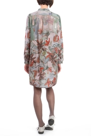 Clara Kaesdorf Shirtdress Flower Red - Front full body